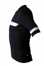 Bike textile - short sleeved jersey, black&white