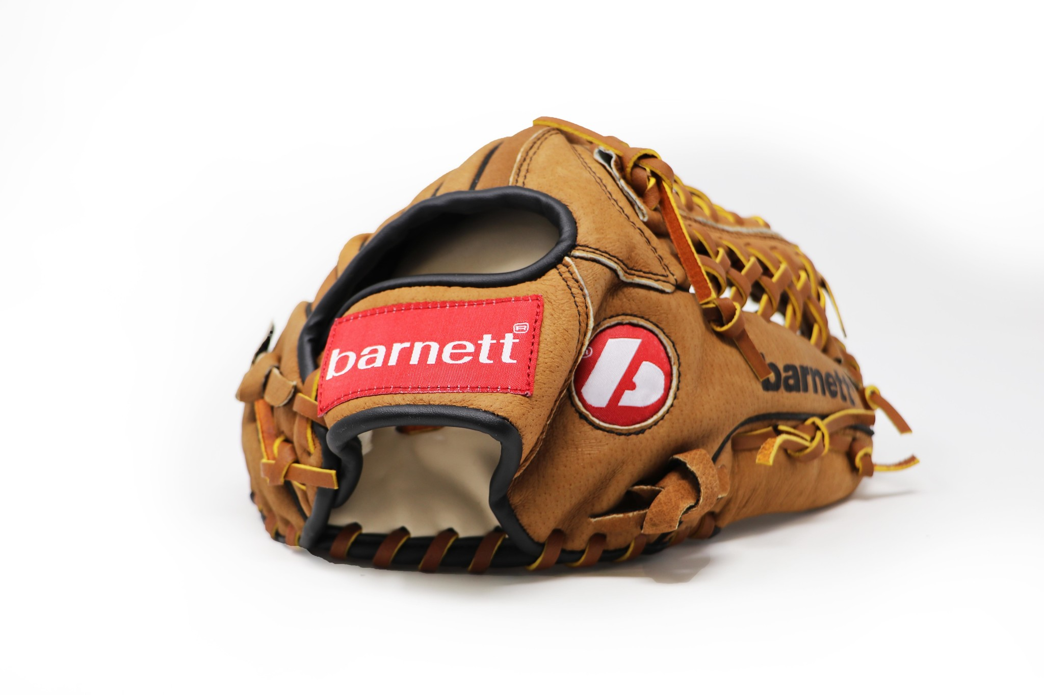 """SL-115 Baseball gloves in leather infield/outfield size 11.5"""", Brown"""
