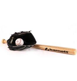 Barnett BGBW-03  wooden baseball kit for juniors  (BB-W 25, JL-110, BS-1)
