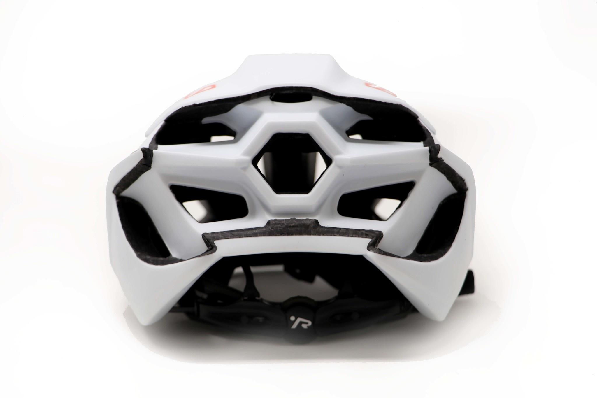 R1 Bicycle and Rollerski helmet WHITE