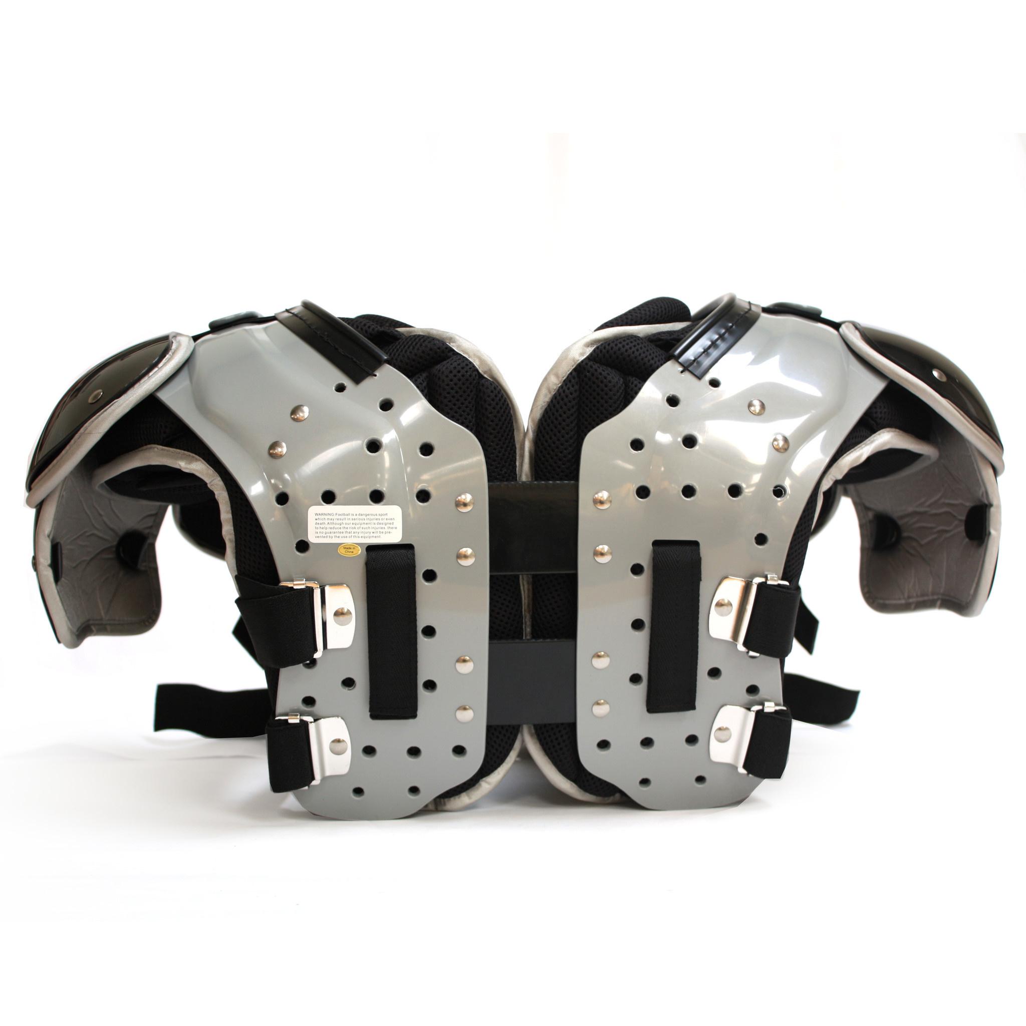 Z-430 II Elite light football shoulder pad, black HB-FB-LB-TE-DL
