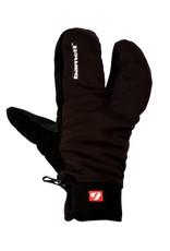 NBG-09 Barnett 3 split fingers, ski mitts in softshell 23°F/-4°F (-5°/-20°)