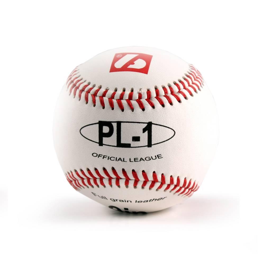 "PL-1 Elite match baseballs, Size 9"" White, 2 pieces"