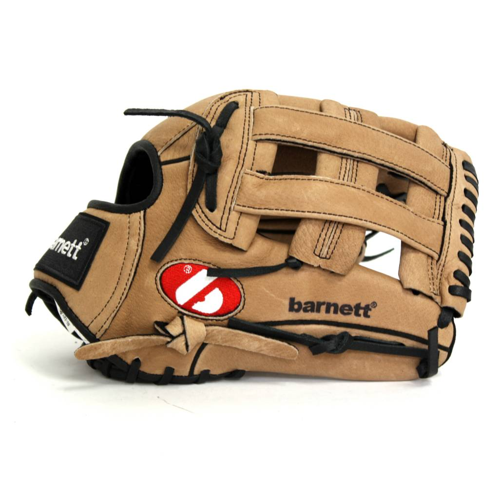 SL-127 Baseball Glove,  Leather, Outfield, Size 12.7'', Brown