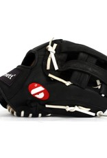 GL-125 Competition baseball glove, genuine leather, outfield 12.5', Black