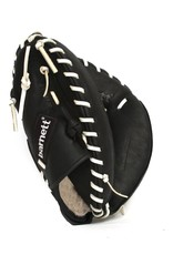 GL-201 Competition catcher baseball glove, genuine leather, adult 31'', Black