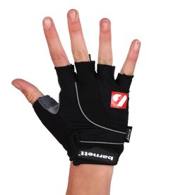 BG-04 fingerless bike gloves for competitions, black