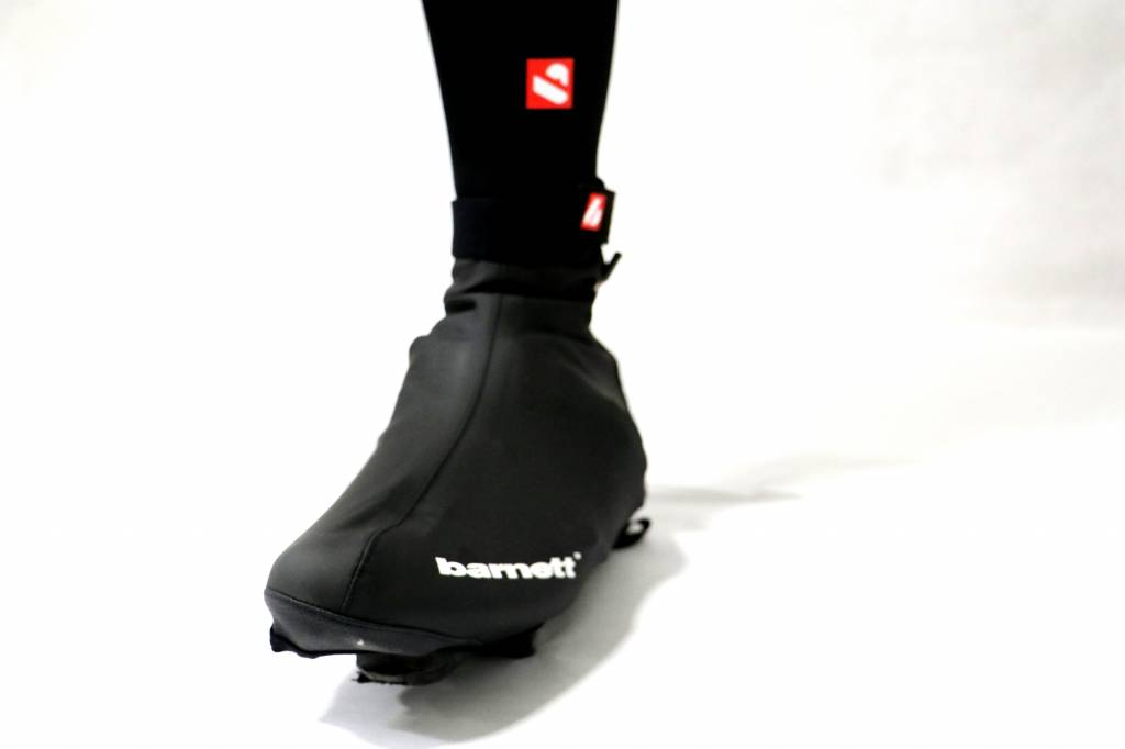 Barnett BSP-05 Cycling overshoes, Warm and water-repellent, Black