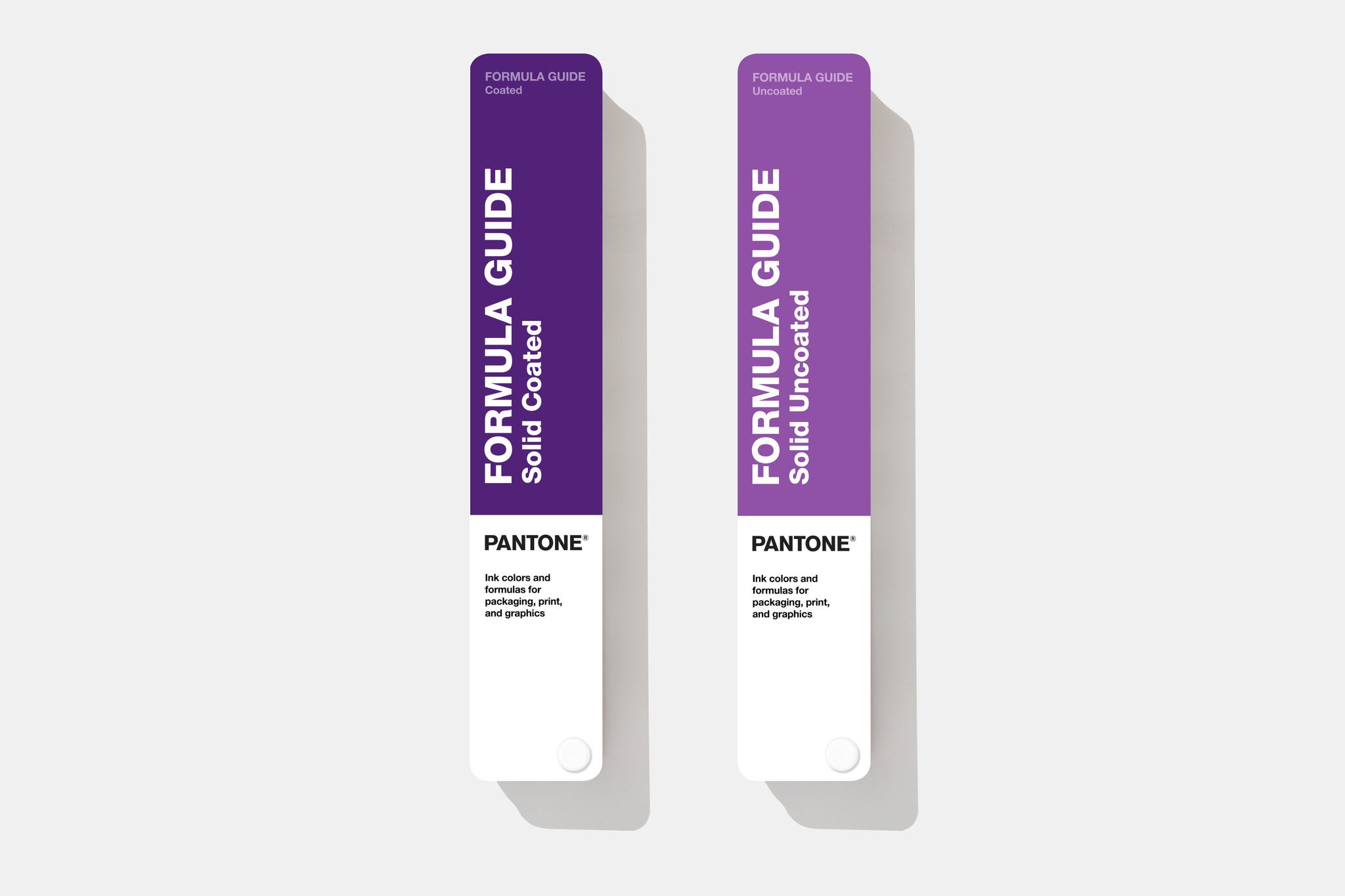 PANTONE PANTONE Formula Guide (Coated & Uncoated) - De NIEUWSTE  2019 kleurgids