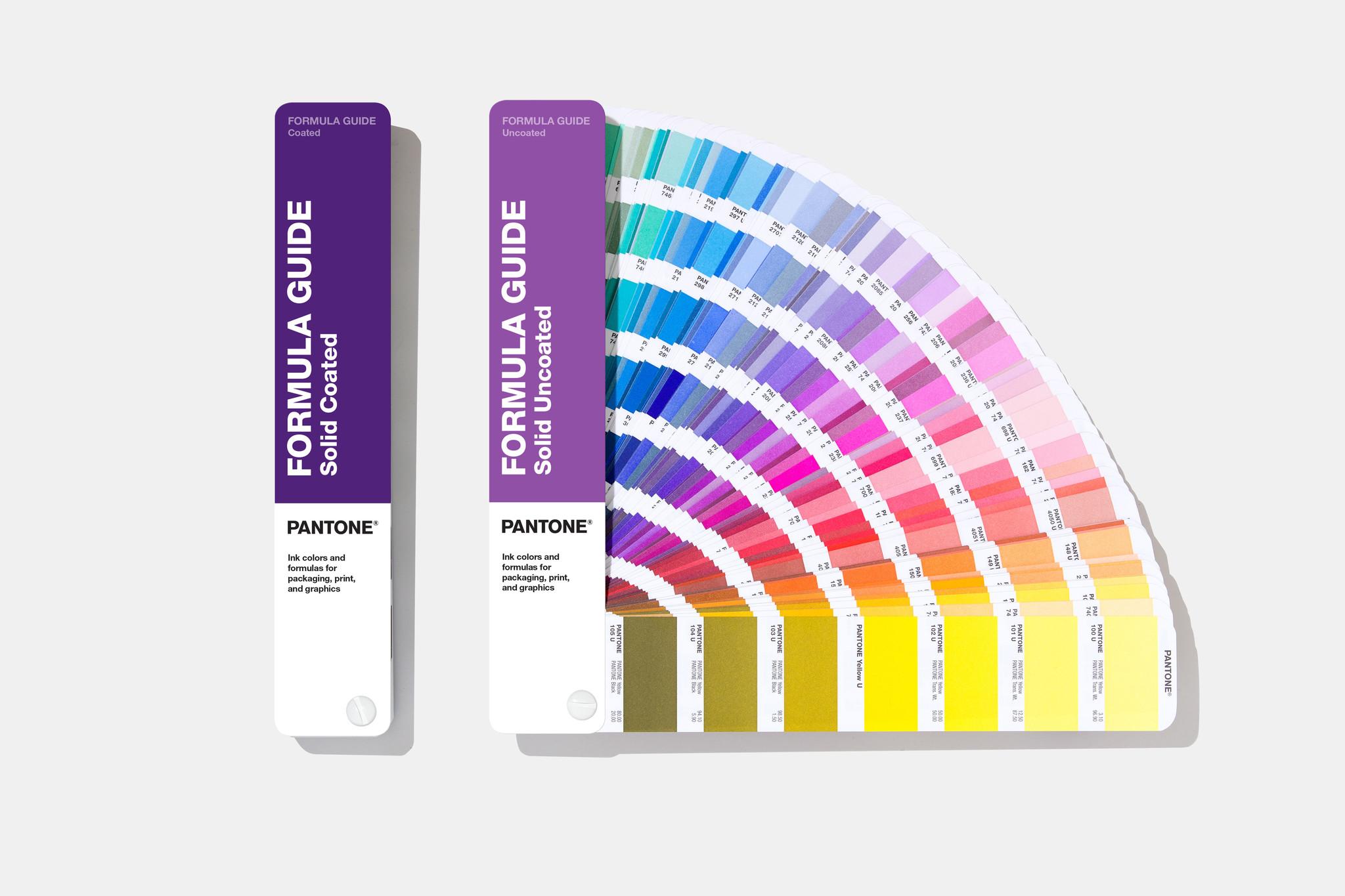 PANTONE PANTONE Formula Guide (Coated & Uncoated) - NEW 2019 colors