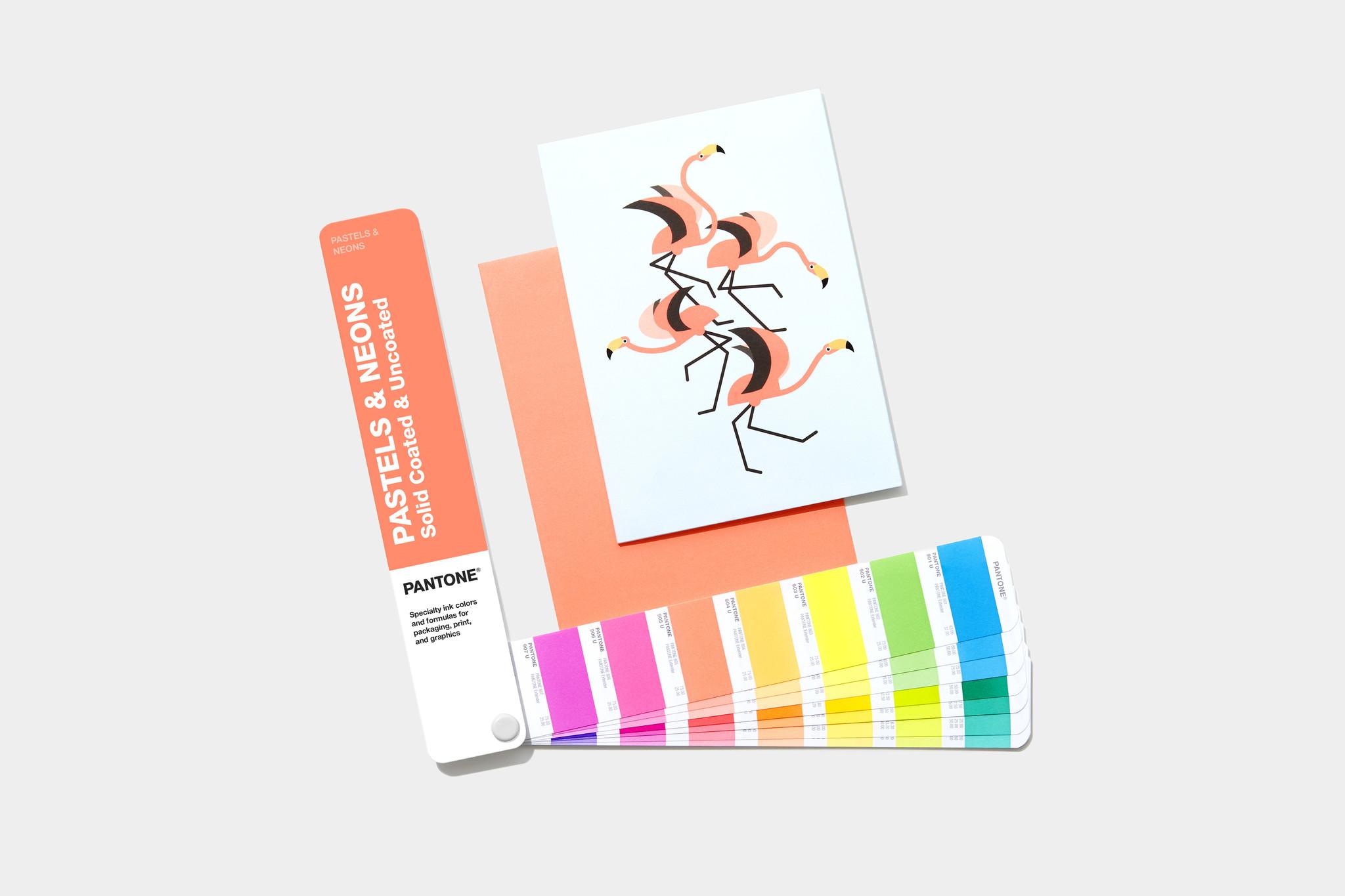 PANTONE PANTONE Pastels & Neons Gids (Coated & Uncoated)