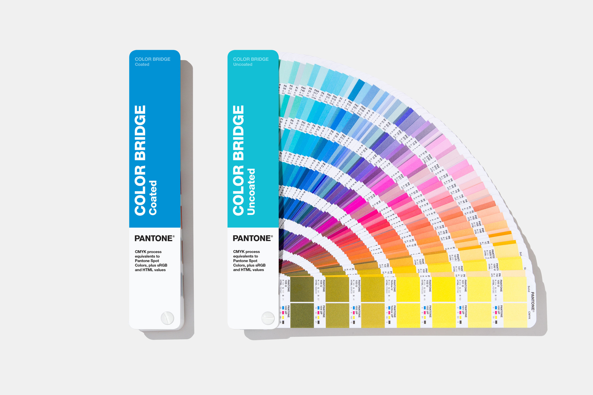 PANTONE PANTONE Color Bridge (Coated & Uncoated) - NEW 2019 guide