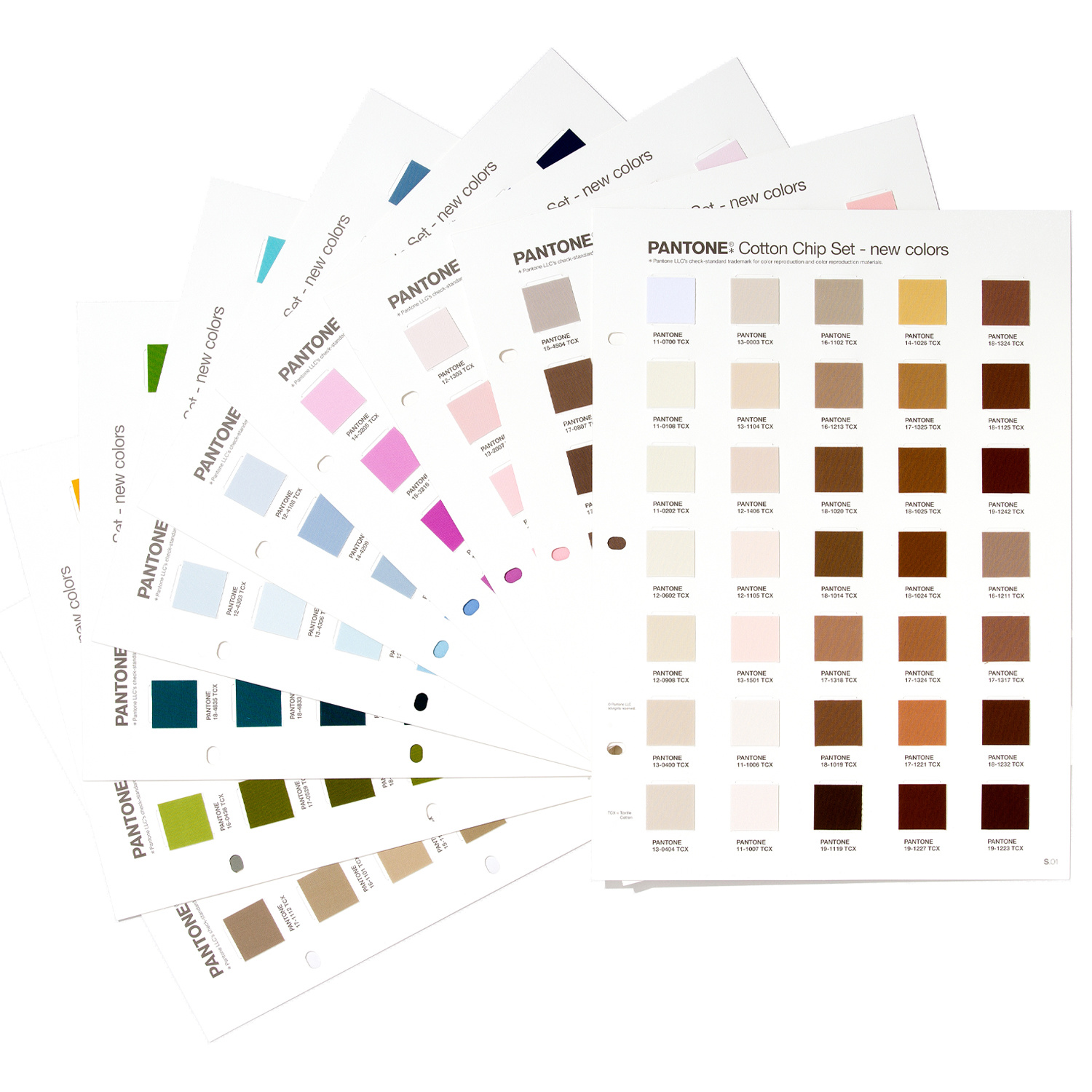 PANTONE PANTONE FHI Cotton Chip Set Supplement