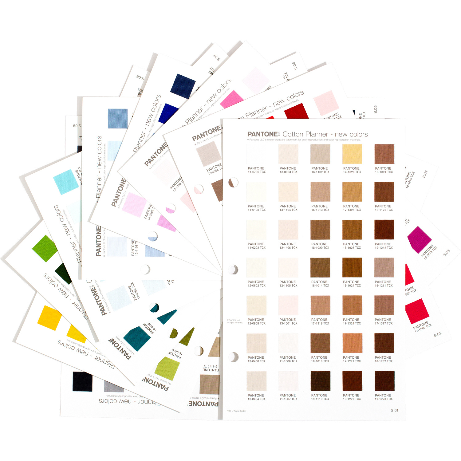 PANTONE PANTONE FHI Cotton Planner Supplement