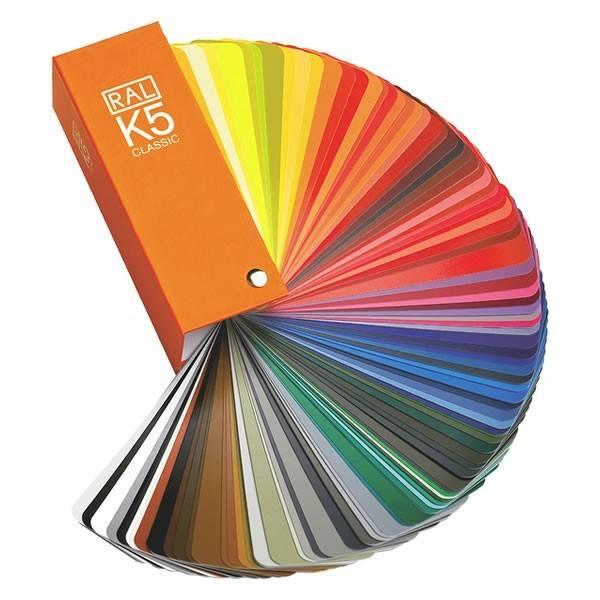 RAL RAL Kleurenwaaier  K5 Semi mat