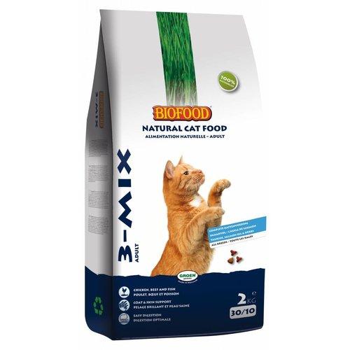 kattenvoer 3-mix 10 kg