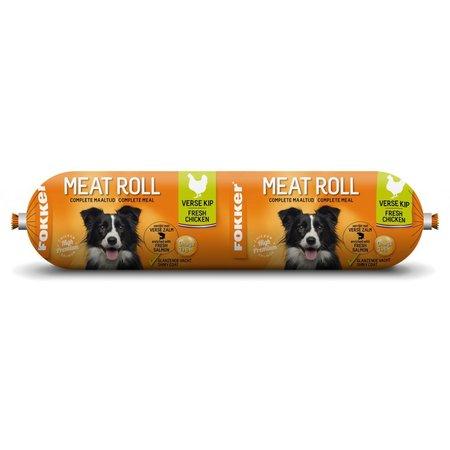 Fokker Meat Roll Kip en Zalm 350 gram