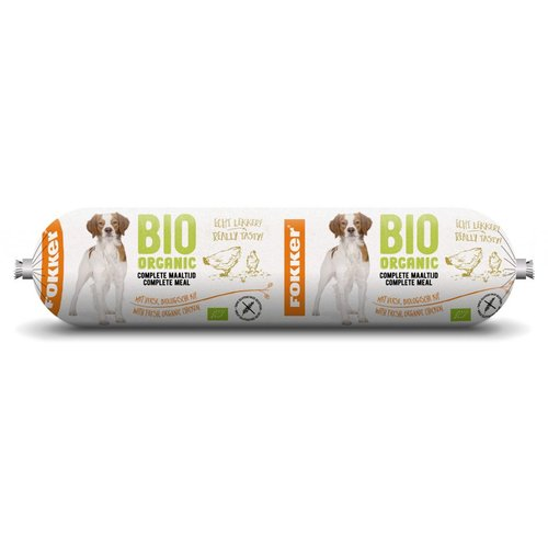 Bio organic worst dog 350 gram