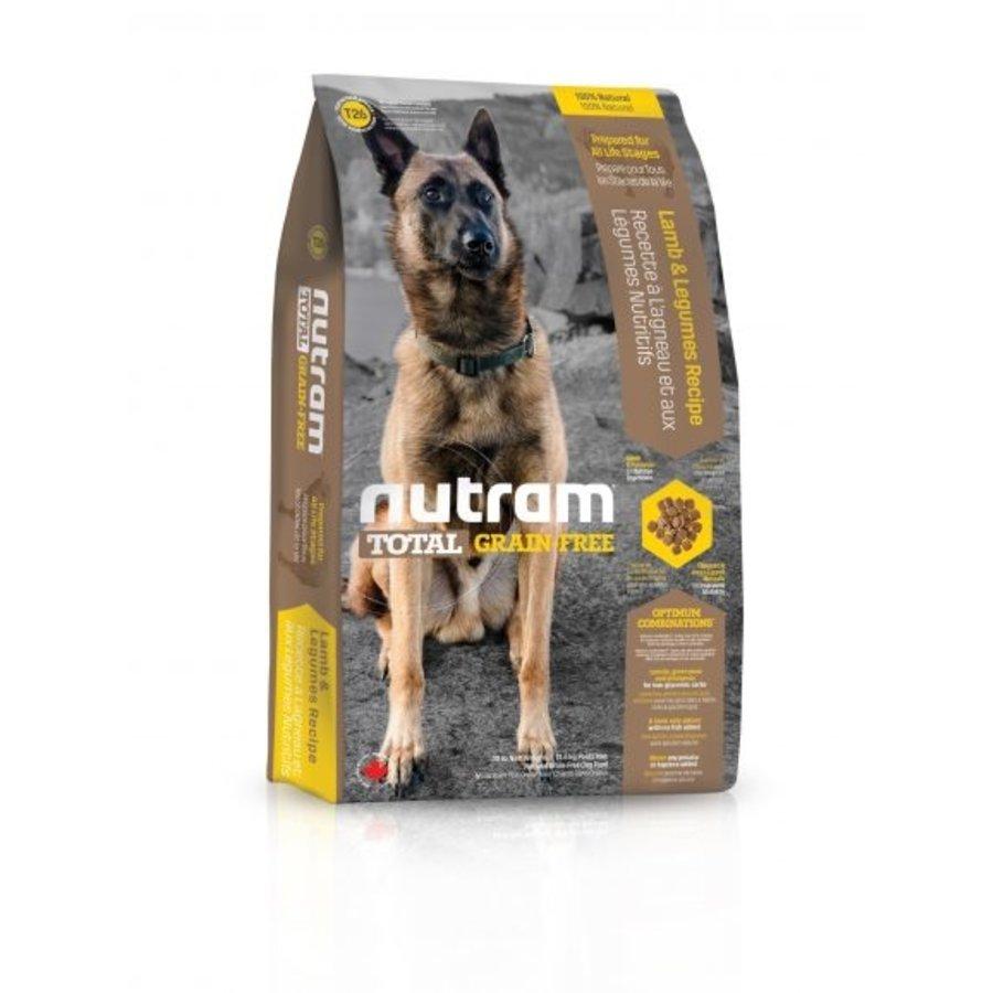 Graanvrij Lam & peulvruchten Hond T26 - 2,7 KG-1