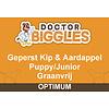 Doctor Biggles Optimum Geperst Puppy/Junior Kip & Aardappel 4KG