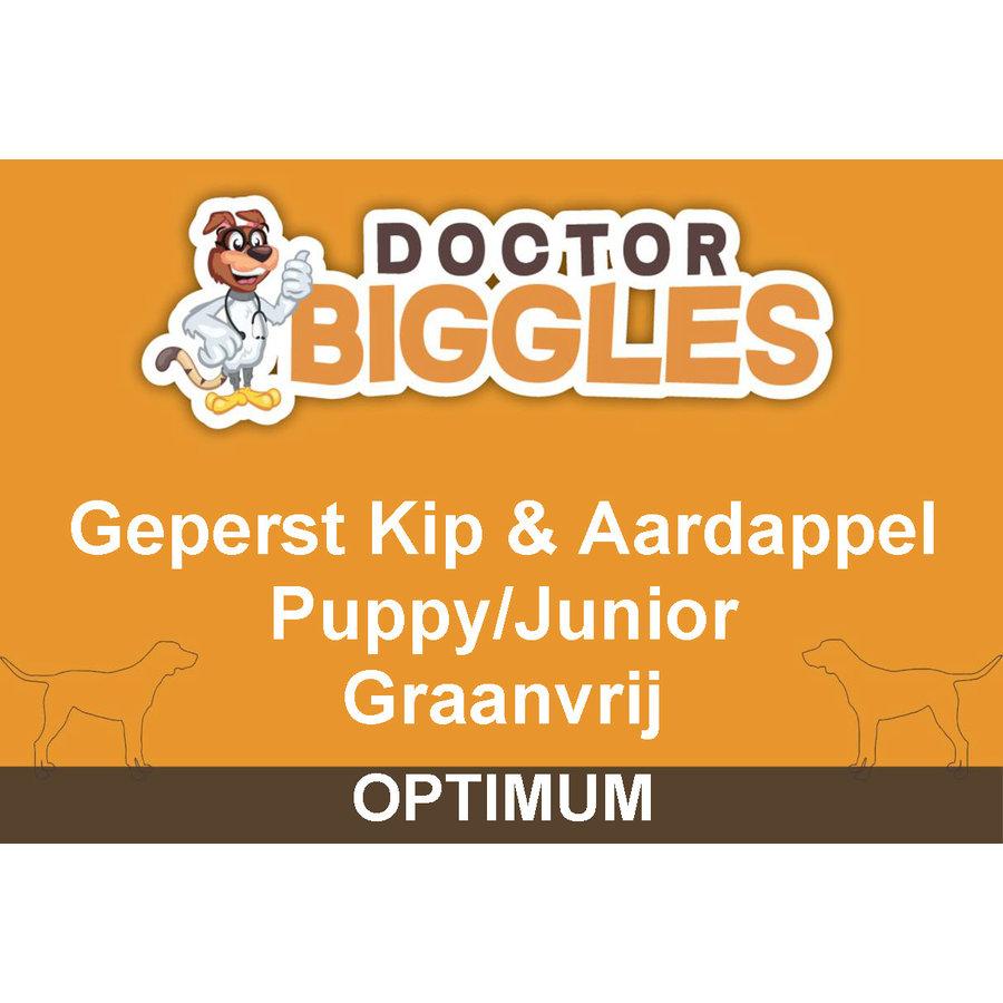 Optimum Geperst Puppy/Junior Kip & Aardappel 4KG-1