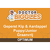 Doctor Biggles Optimum Geperst Puppy/Junior Kip & Aardappel 10KG
