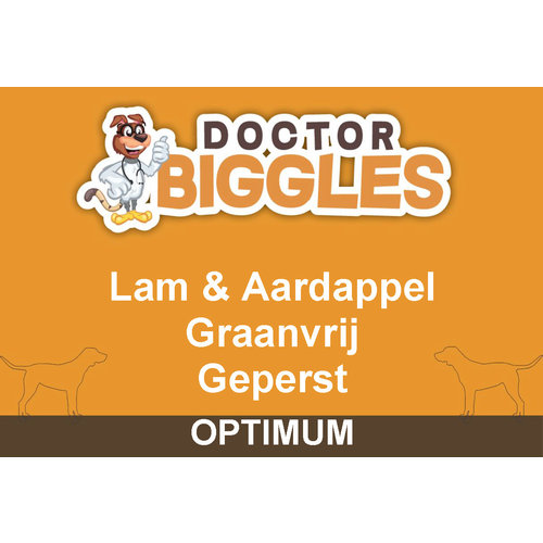 Optimum Geperst Lam & Aardappel 10KG