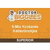 Doctor Biggles 6-Mix Kattenbrokjes 10KG