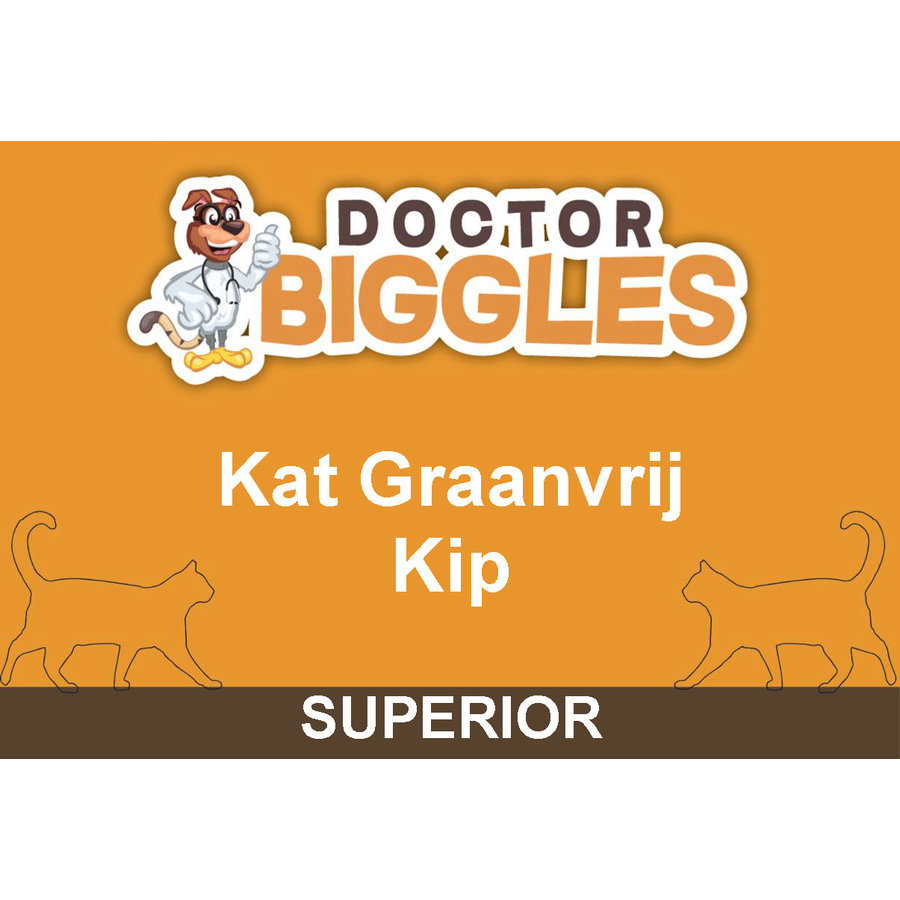 Superior Kat Graanvrij Kip 2KG-1