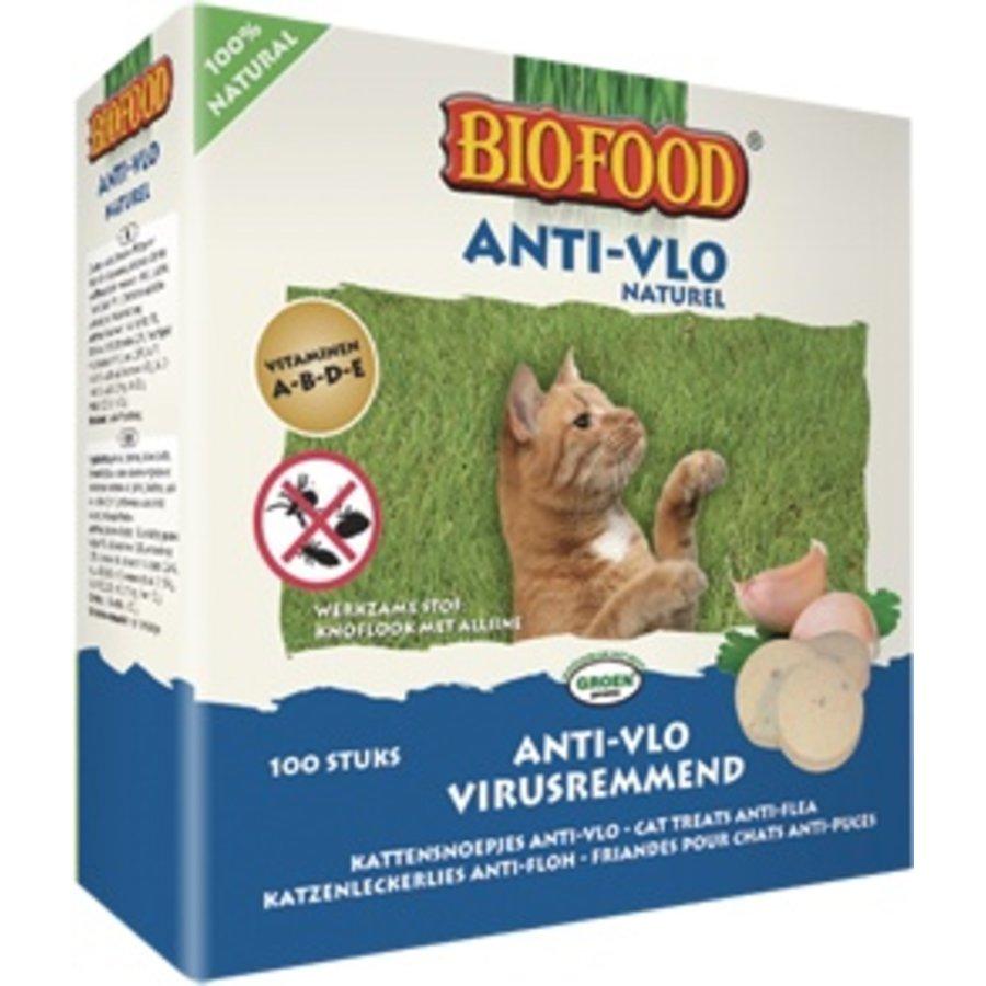 Kattensnoepjes Anti-vlo Naturel 100 stuks-2
