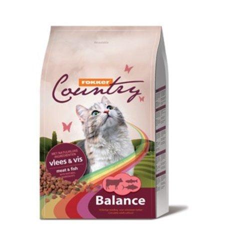 Fokker Country Balance Vlees & Vis Kattenvoer 10 kg