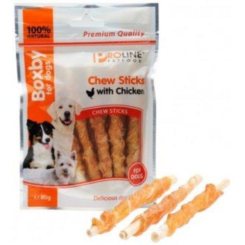 Chew Sticks with Chicken