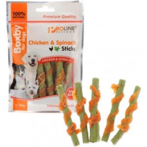 Chicken & Spinach Sticks
