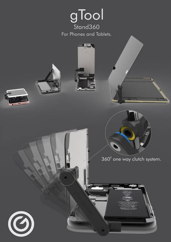 New!!! gTool Stand360 - S360-01