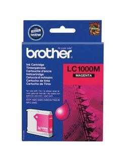 Brother LC-1000M Magenta (Origineel)