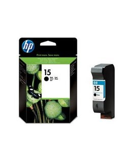 HP No. 15 Black 25ml (Original) Ink Cartridge