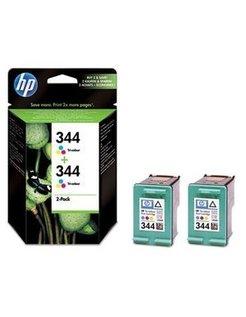 HP 344 Kleur (2 Pack) (Origineel)