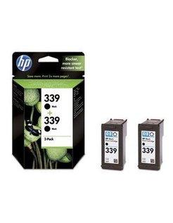 HP 339 Zwart (2 Pack) (Origineel)