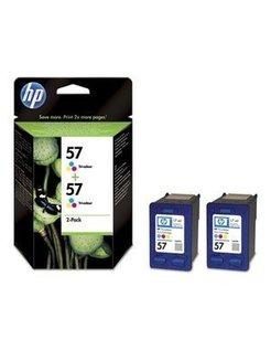 HP 57 Kleur (2 Pack) (Origineel)