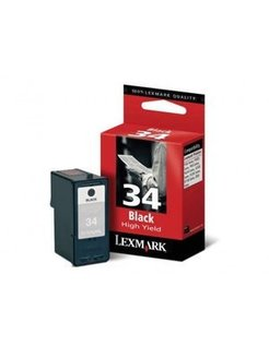 Lexmark 34 XL Zwart (Origineel)