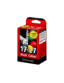Lexmark 17 + 27 Zwart en Kleur (Origineel)