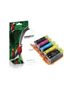 Yanec PGI-5/CLI-8 Zwart en Kleur (5-Pack) (Canon)