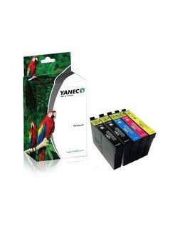 Yanec T1285 Zwart en Kleur (5-Pak) (Epson)