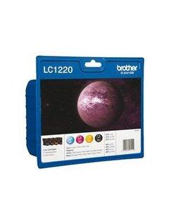 Brother LC-1220 Zwart en Kleur (4-Pak) (Brother)