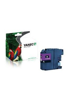 Yanec LC-125XLM Magenta (Brother)