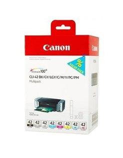 Canon CLI-42 Zwart en Kleur (8-pack, Origineel)