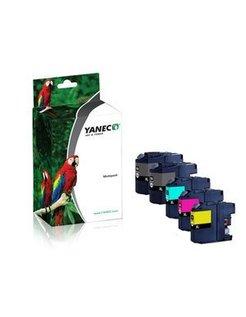 Yanec LC-125XL / LC-127XL Zwart en Kleur (5-Pak) (Brother)