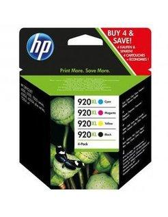 HP 920 XL Zwart en Kleur (Origineel)