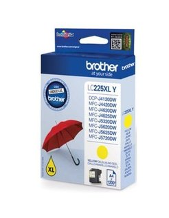 Brother LC-225 XL Geel (Origineel)