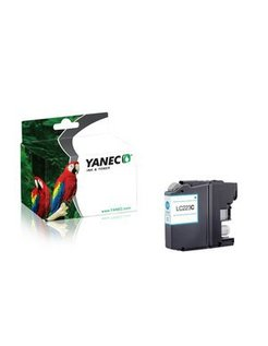 Yanec LC-223C Cyaan (Brother)